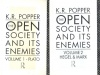 Popper, Karl R. : The Open Society and its Enemies I-II.