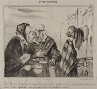 Daumier, Honoré : Types Parisiens.