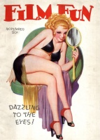 Film Fun. November,1937. - George Quintana cover; Grady, Lester C. (editor)
