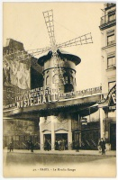 PARIS. Le Moulin Rouge. [1920 körül]