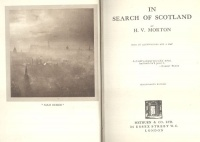 Morton, H. V. : In Search of Scotland