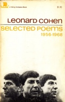 Cohen, Leonard : Selected Poems 1956-1968