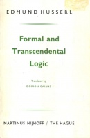 Husserl, Edmund : Formal and Transcendental Logic