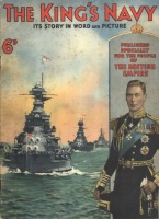 Winchester, Clarence (Ed.) : The King's Navy 6d - Its Story in Word and Picture