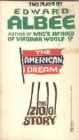 Albee, Edward : Two Plays By  : The American Dream and The Zoo Story