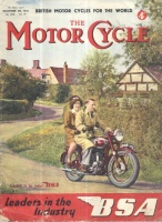 Bourne, Arthur B. (Ed.) : The Motor Cycle.  No. 2330 Vol. 79