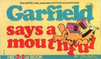 Davis, Jim : Garfield Says a Mouthful - His 21st Book