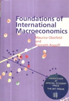 Obstfeld, Maurice - Rogoff, Kenneth : Foundations of International Macroeconomics