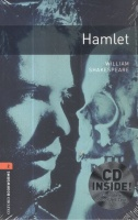 Shakespeare, William : Hamlet - Oxford Bookworms Library.  Level 2. - With audio CD pack