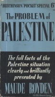 Royden, Maude : The Problem of Palestine