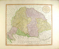 Cary, John : A NEW MAP OF HUNGARY [Magyarország térképe, 1799.] - with its divisions into gespanchafts or Counties...