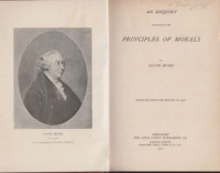Hume, David : An Enquiry Concerning the Principles of Morals