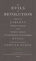 Burke, Edmund : The Evils of Revolution