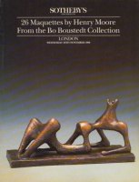 Sotheby's - 26 Maquettes by Henry Moore From the Bo Boustedt Collection