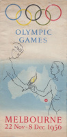 Olympic Games - Melbourne  22 Nov-8 Dec 1956