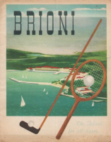 Brioni - The Island for all Sports...  [Prospekt]