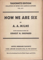 Milne A. A. : Now We Are Six