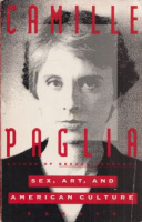 Paglia, Camille : Sex, Art, and American Culture- Essays