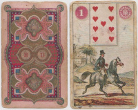 Dondorf Lenormand (The Purple Dondorf) / Litografált Lenormand jóskártya
