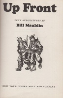 Mauldin, Bill : Up Front