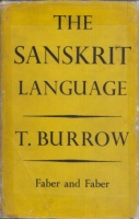 Burrow, T. : The Sanskrit Language