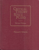 Adams, Hazard  : Critical Theory Since Plato