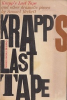 Beckett, Samuel : Krapp's Last Tape and other dramatic pieces