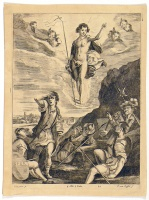 Kessel, Theodor van (1620-1696) : Jézus Krisztus mennybemenetele.   [Ascension of Christ]