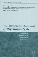 The American Journal of Psychoanalysis. Volume 79, Issue 3, September 2019 - Ferenczi In Our Time and a Renaissance of Psychoanalysis - Florence International Sándor Ferenczi Conference