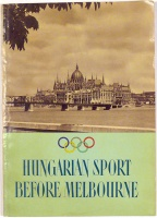 Hungarian sport before Melbourne