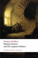 Hobbes, Thomas  : The Elements of Law Natural and Politic. Part I: Human Nature; Part II: De Corpore Politico