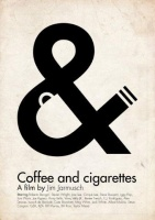 Coffee and cigarette - a film by Jim Jarmusch [Reprint plakát]