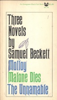 Beckett, Samuel : Three Novels - Molloy-Malone Dies-The Unnamable