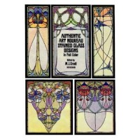 Gradl,  M.J. : Authentic Art Nouveau Stained Glass Designs