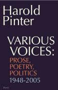 Pinter, Harold  : Various Voices