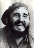 014.     UNKNOWN - ISMERETLEN : Fidel Castro - 4 pcs photos 1974-75.