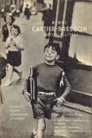 111.     CARTIER-BRESSON, HENRI :  - - 's photo exhibition catalogue. 3-18. Oct. 1964. Directed by the Association of Hungarian Photographers.