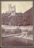 186a.     UNKNOWN - ISMERETLEN : [Solomon-tower in Visegrad], cca. 1905.
