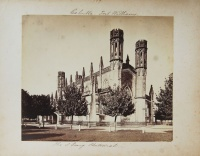 223.     UNKNOWN - ISMERETLEN : Calcutta – Fort Williams. The S. Georg Chatedral. Cca. 1870.