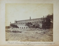 225.     UNKNOWN - ISMERETLEN : Der große Imambara oder Ceremoniensaal des Maharadjah's von Lucknow.     [The Bara (great) Imambara of Lucknow], cca. 1880.