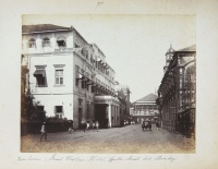 228.     UNKNOWN - ISMERETLEN : Vorder Indien – Great Western Hotel, Apollo Street, Fort Bombay. Cca. 1880.