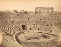 237.     UNKNOWN - ISMERETLEN : [Roman amphitheater in Verona], cca. 1900.