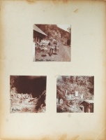 244.     UNKNOWN - ISMERETLEN : [Japanese genres, merchant, tombs], cca. 1900.
