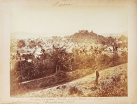 263.     UNKNOWN - ISMERETLEN : Singapore – Ansicht vom Fort. [The view of the fort in Singapore], cca. 1870.