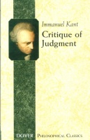 Kant, Immanuel : Critique of Judgment