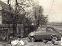 040.   [Fiat 500]. [amatőr fotó]<br><br>[amateur photo] :