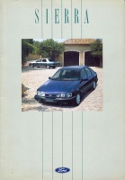 045.   Ford Sierra. [reklámprospektus német nyelven]<br><br>[advertising brochure in German] :