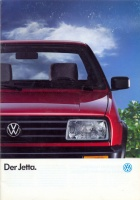059.   Der Jetta. [reklámprospektus német nyelven]<br><br>[advertising brochure in German] :