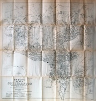 258.  Buxey's New Map of Southampton from the Ordnance and Actual Surveys. [térkép]  :