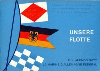 336. Unsere Flotte. [könyv német nyelven az NSZK hadiflottájáról]<br><br>[book in German about the battle fleet of German Federal Republic] :